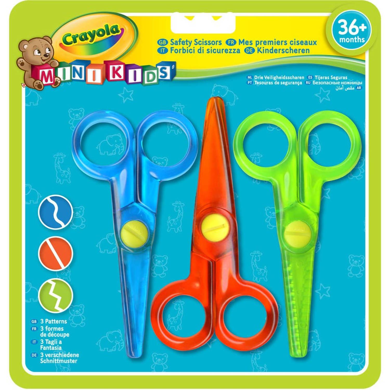 Crayola Mini Kids kinderscharen - 3 stuks