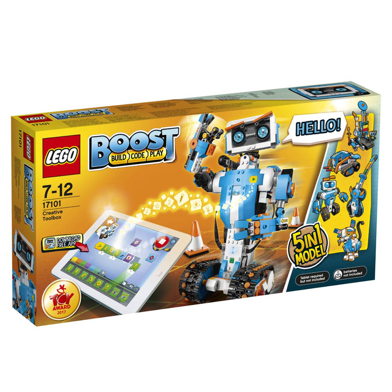 Korting LEGO Boost creatieve gereedschapskist 17101