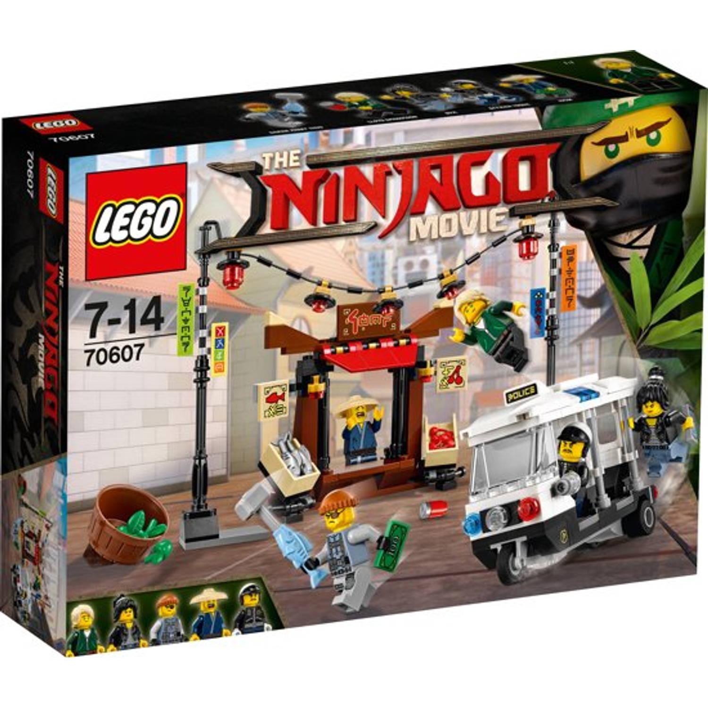 Voorkeur LEGO Ninjago 70607 achtervolging door de stad | Blokker GJ08