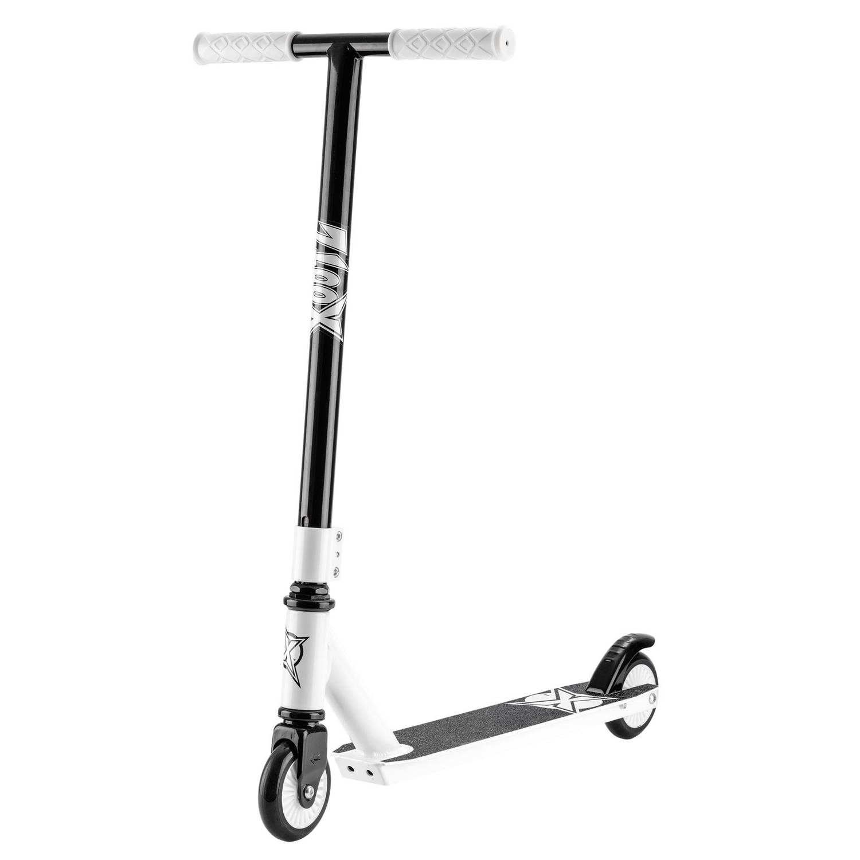 Xootz Stunt Scooter Junior Voetrem Zwart-Wit
