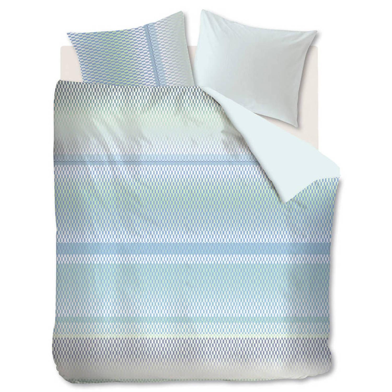 Kardol & verstraten dekbedovertrek celeste blue green-260x200/220