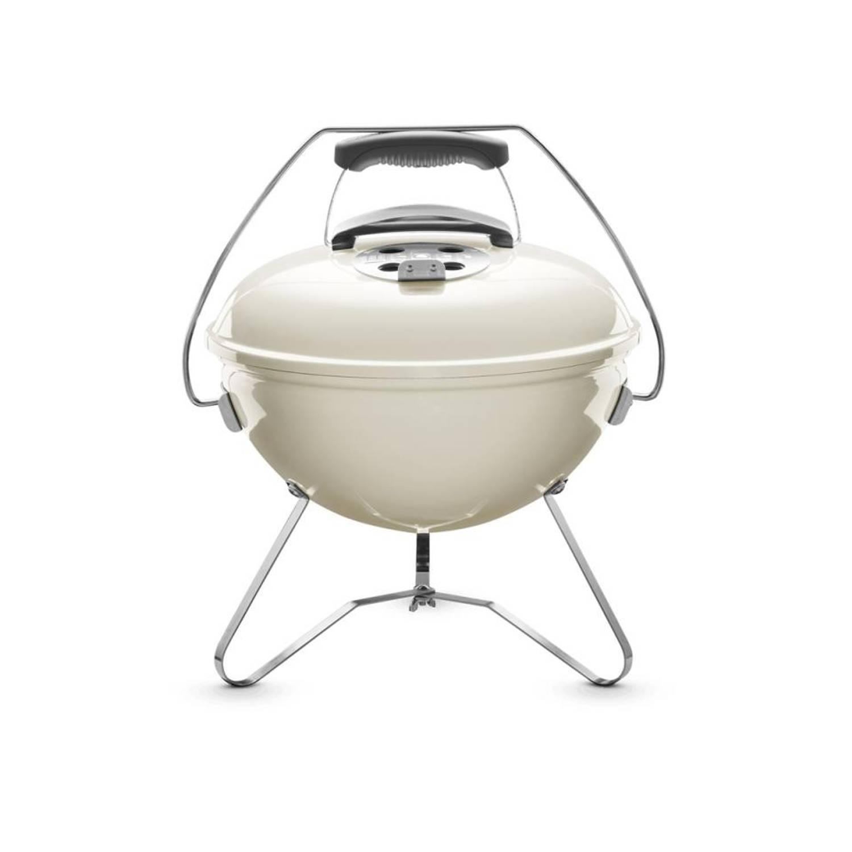 Weber Smokey Joe Premium Houtskoolbarbecue ø 37 Cm Ivoor