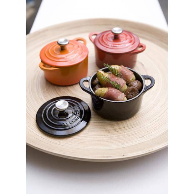 Le Creuset mini braadpan - ø 10 cm - mat zwart