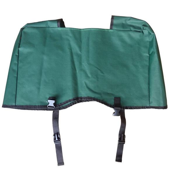 Bolderkar / Bolderwagen opvouwbaar groen met opberghoes
