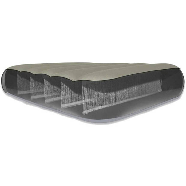 Intex luchtbed Dura Deluxe 2-persoons 203 x152 x 25 cm
