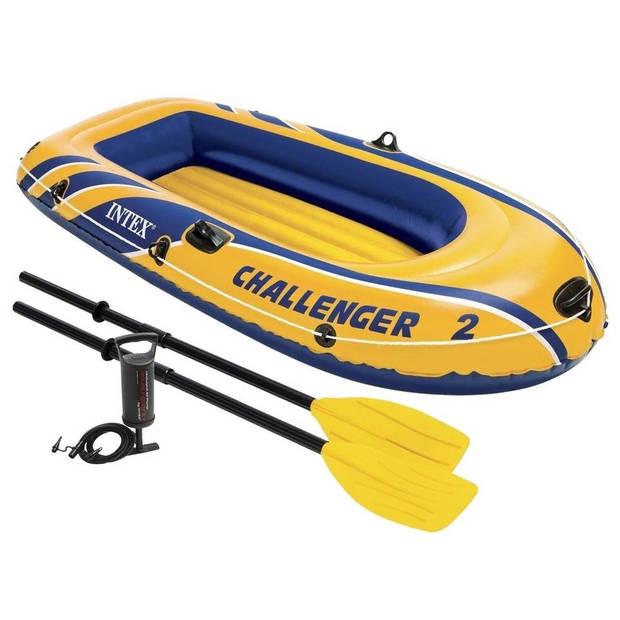 Intex Challenger 2 opblaasboot