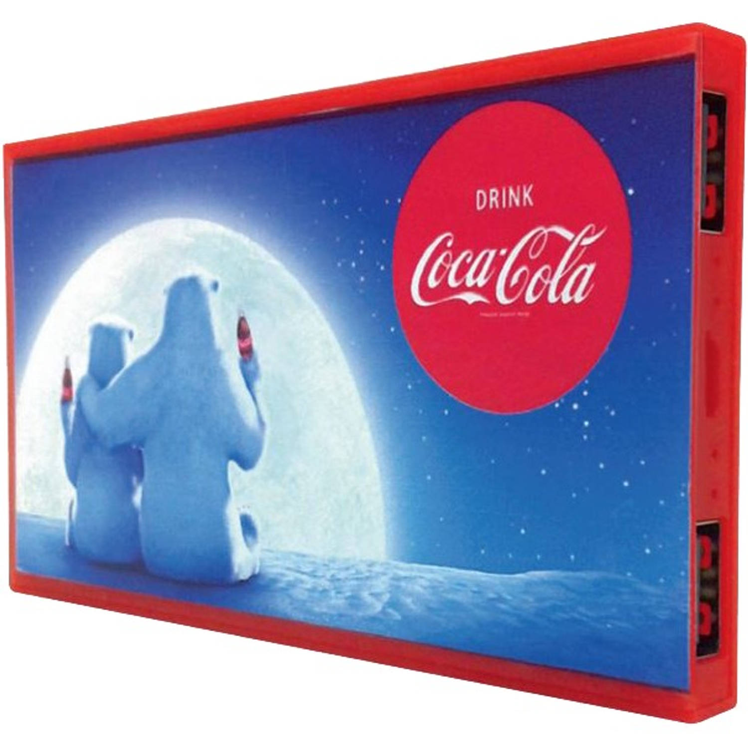 Coca - Cola powerbank PW2USBFLAT-40-W2