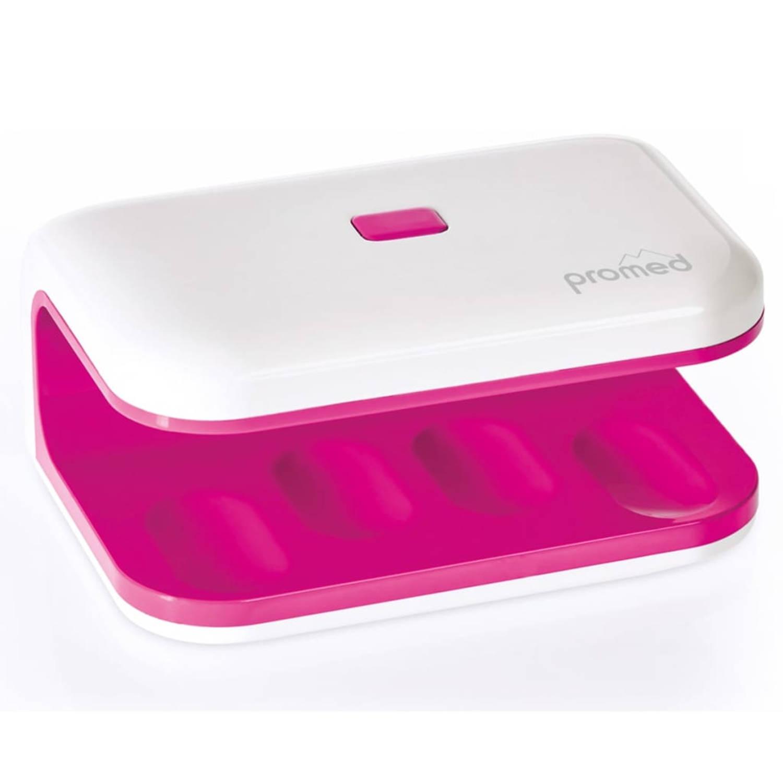 Promed UV Nageldroger UV-LED 8 8 W mini roze en wit 330035