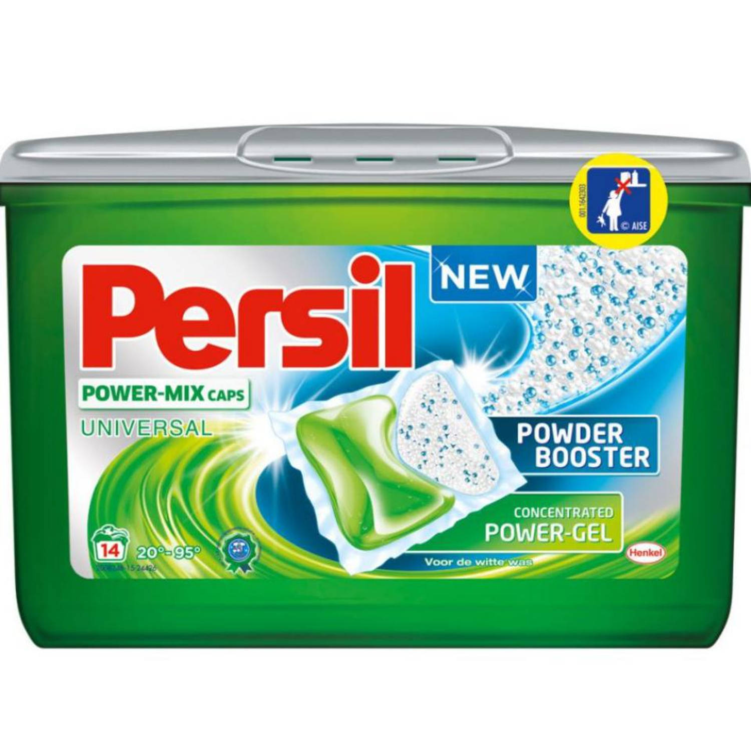 Persil Power-Mix Caps Universal - 14 stuks