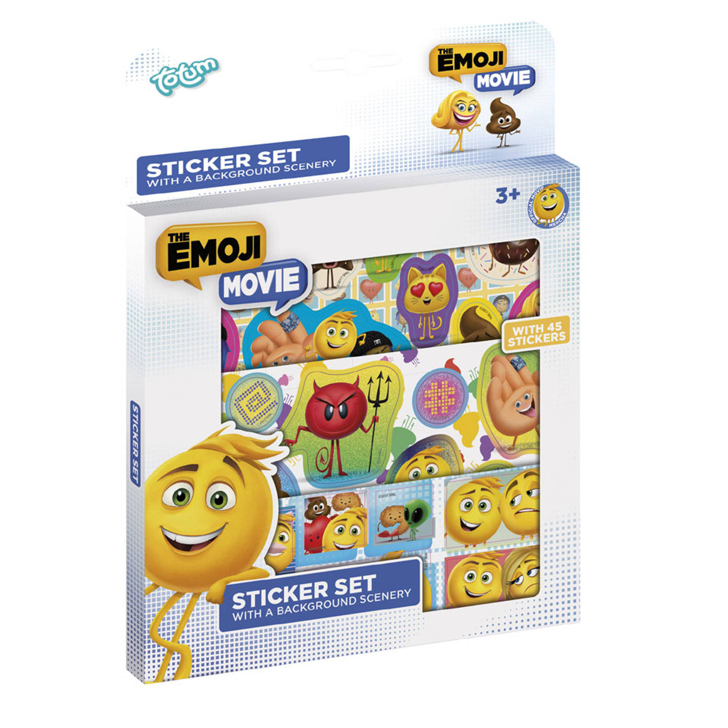 The Emoji Movie stickerset