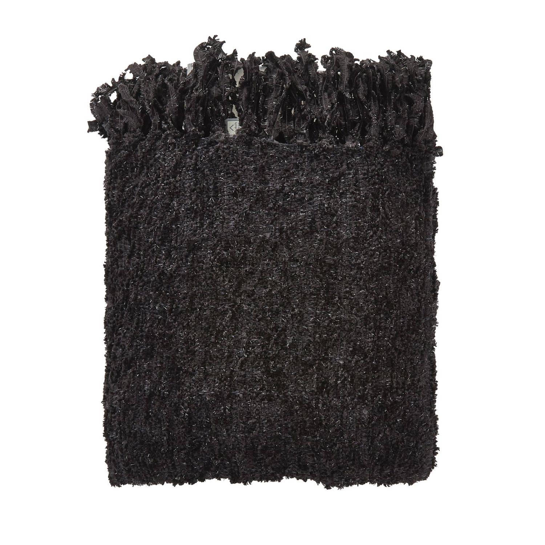 Plaid Fedde Zwart