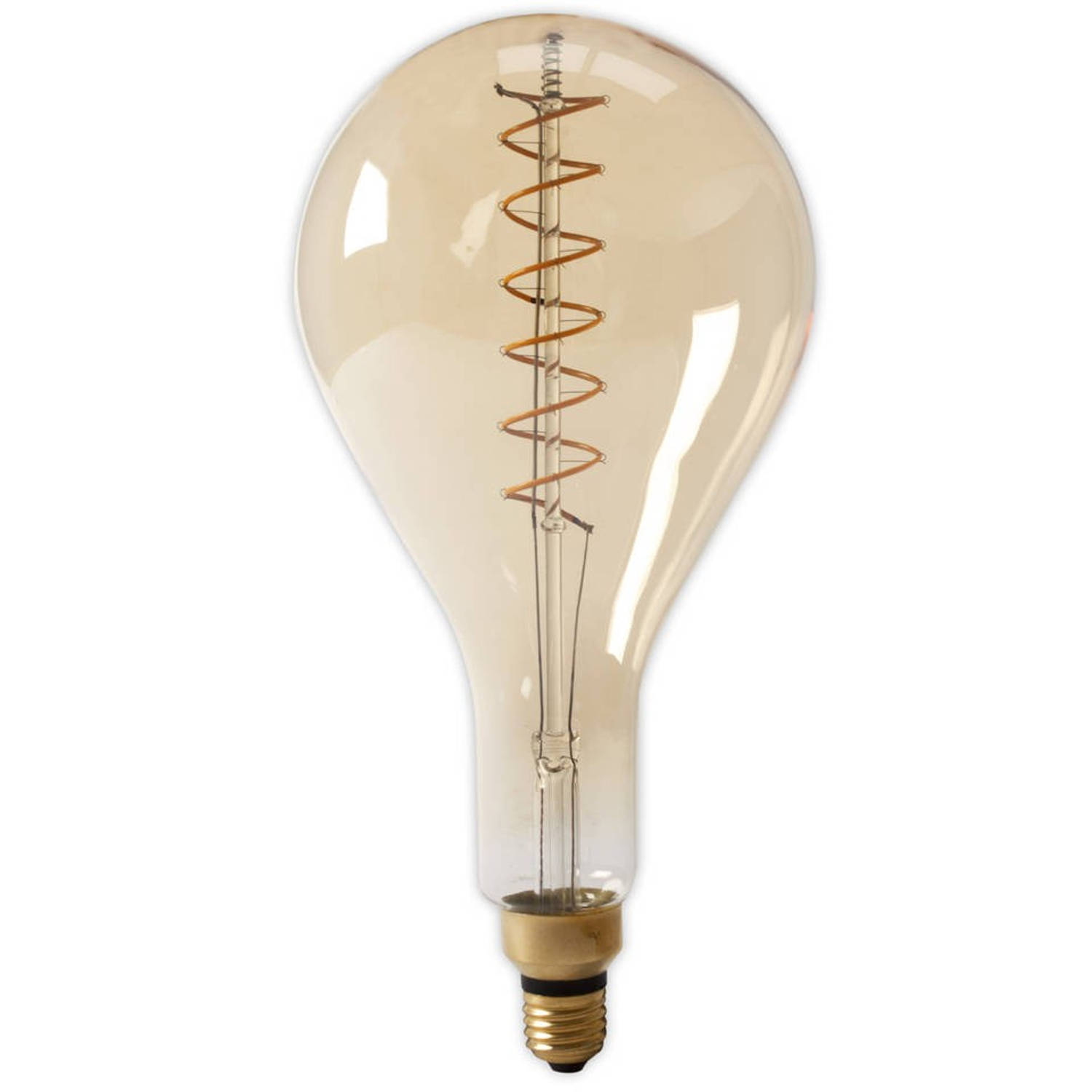 LED VOLGLAS FILAMENT SPLASH 240V 4W E27 GOLD DIMB.