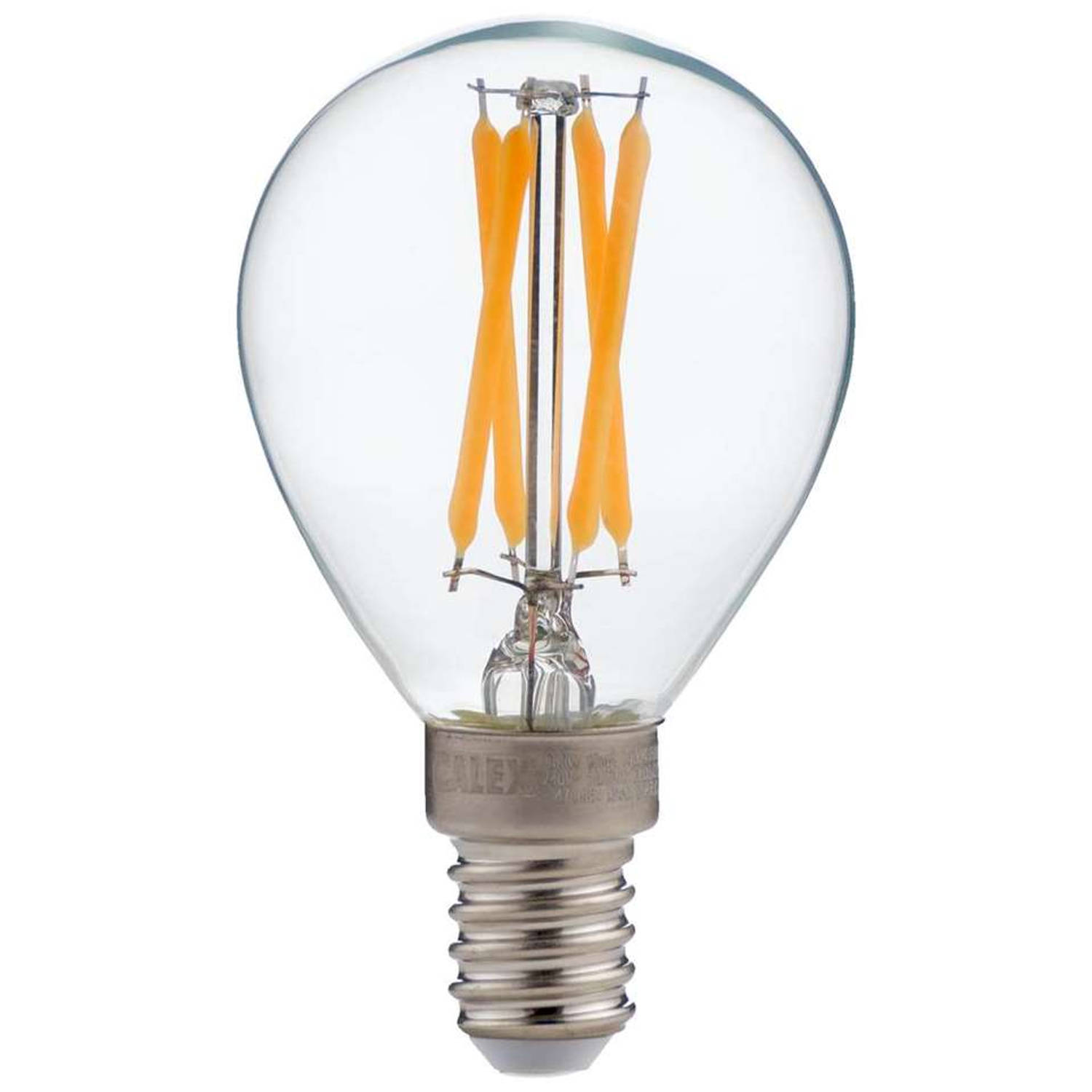 LED FILAMENT KOGELLAMP 240V 3,5W E14 P45 DIMBAAR