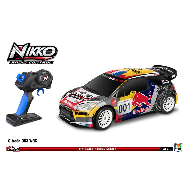 NIKKO op afstandbestuurbare auto Citroen DS3 WRC Red Bull