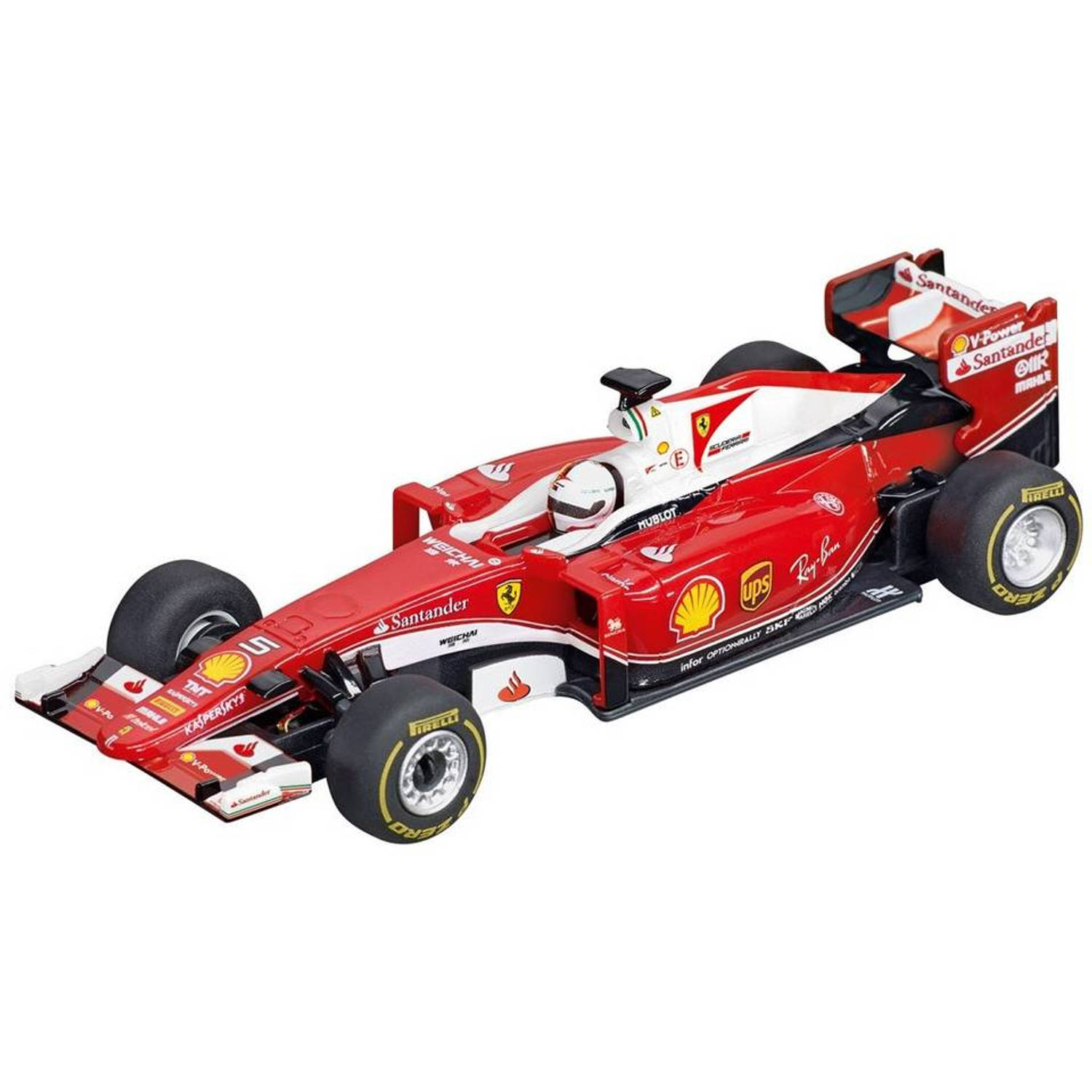 carrera go ferrari sf16 h formule 1 racebaanauto s vettel 5 blokker. Black Bedroom Furniture Sets. Home Design Ideas