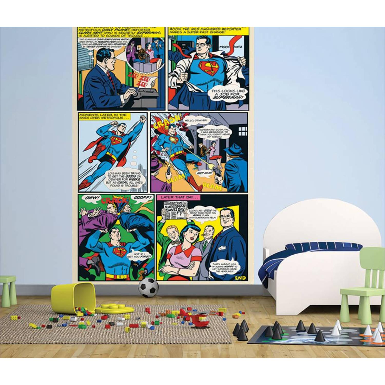 DC Comics Comic - Posterbehang - 232 x 158 cm - Multi