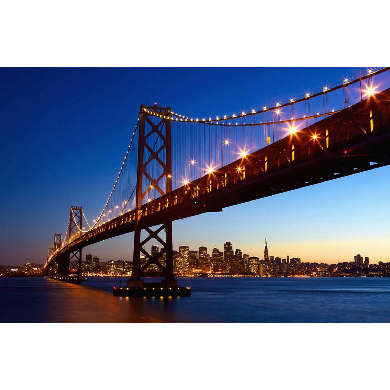 - San Francisco Skyline - Poster Xxl - 175 X 115 Cm - Multi