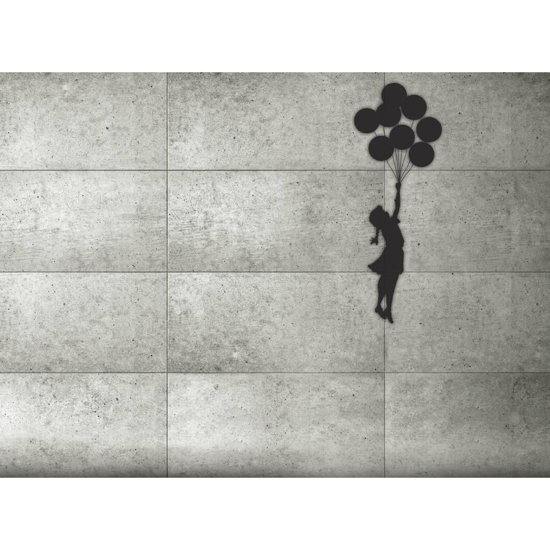 Meisje met Ballon - Behang - 315 x 232 cm - Multi