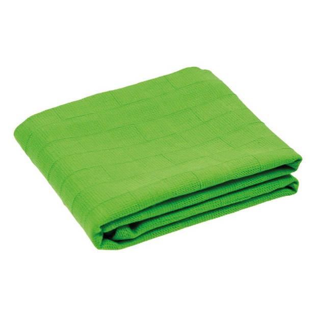 Arowell - Theedoek Keukendoek - Groen - 3 stuks