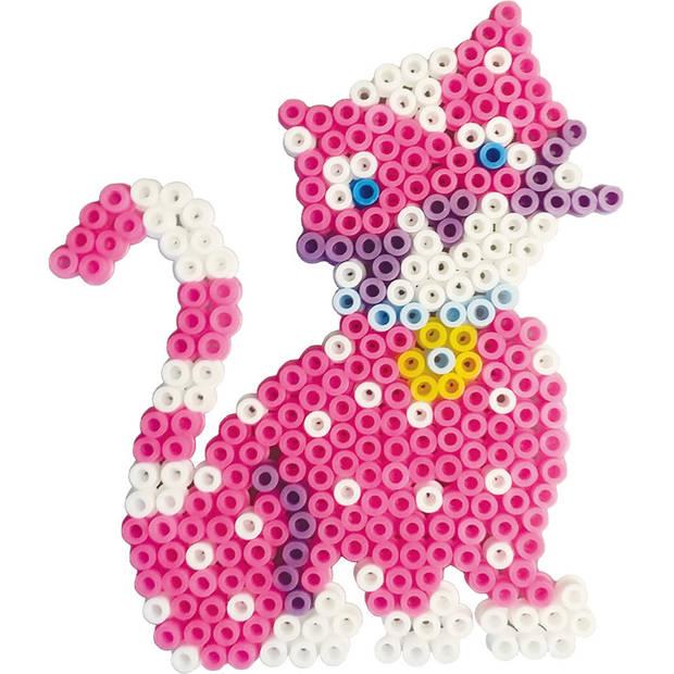 SES Beedz strijkkralenset kat