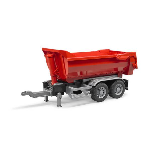 Bruder halfpipe trailer voor vrachtwagens 03923