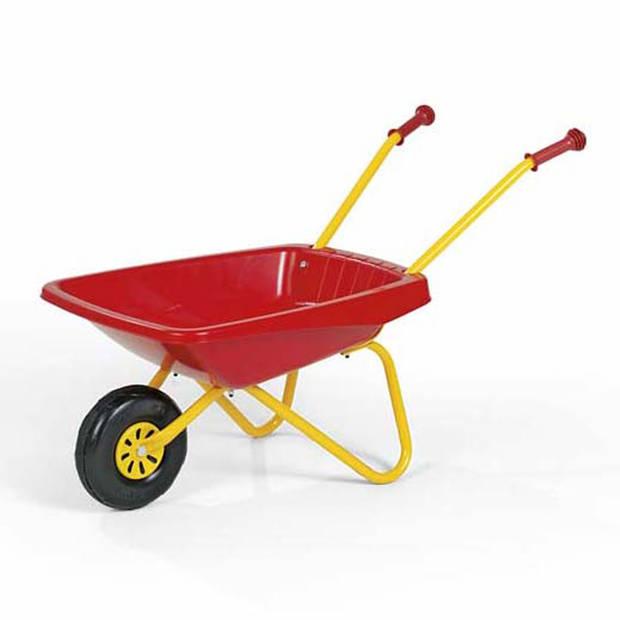 Rolly toys kruiwagen - kunststof - rood