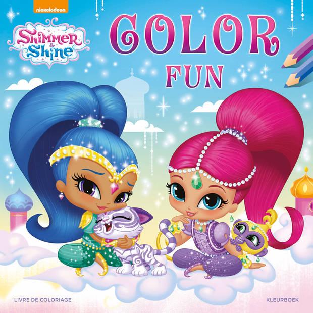 Shimmer & Shine Color Fun kleurboek