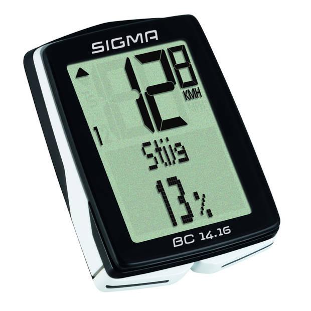 Sigma fietscomputer BC 14.16 zwart