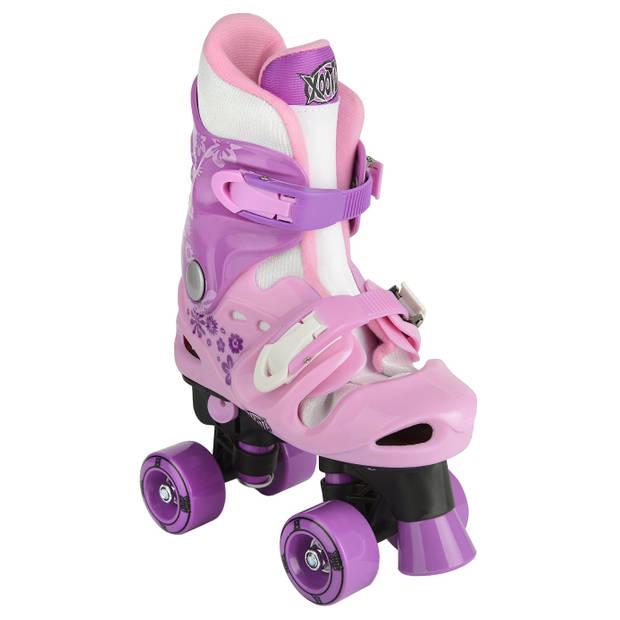 Xootz rolschaatsen Quad Skate meisjes roze maat 36/38
