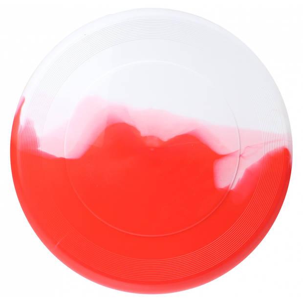 Toyrific frisbee 27 cm rood