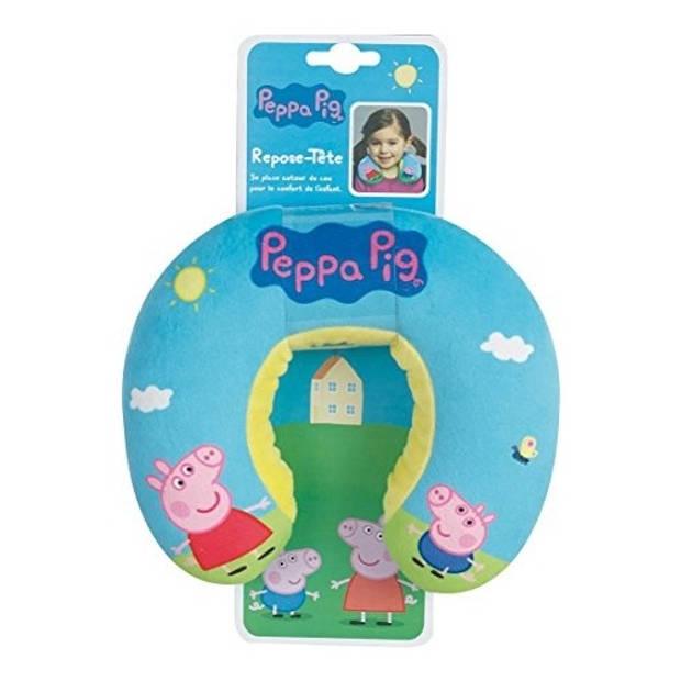 Nickelodeon nekkussen Peppa Pig junior pluche blauw 22 cm