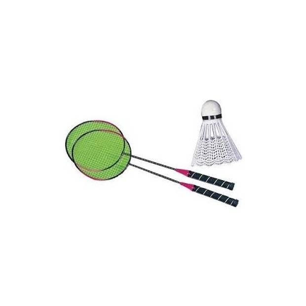 Toyrific Badmintonset zwart 2 stuks