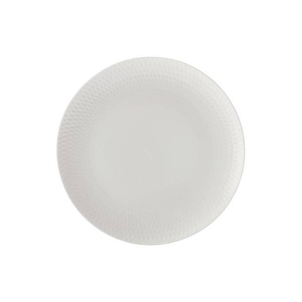 Maxwell & Williams Diamonds Round ontbijtbord - ø 23 cm
