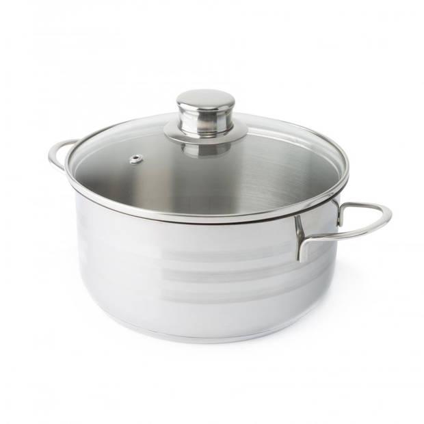 Imperial Kitchen pannenset - RVS - 7-delig