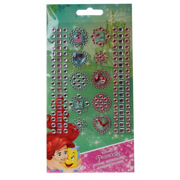 Slammer Princess stickers 119 stuks meisjes roze
