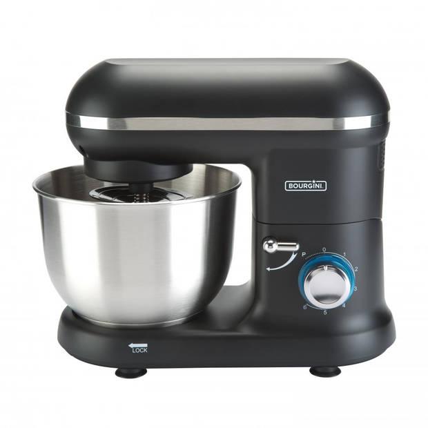 Bourgini keukenmachine Classic Kitchen Chef - zwart