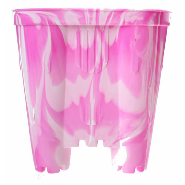 Yello emmer zandkasteel roze 13 x 16 cm