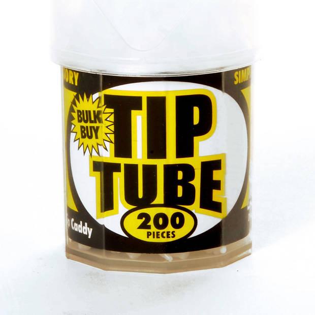 Harrows softtip reserve dartpunten dimple tube - 200 stuks - wit