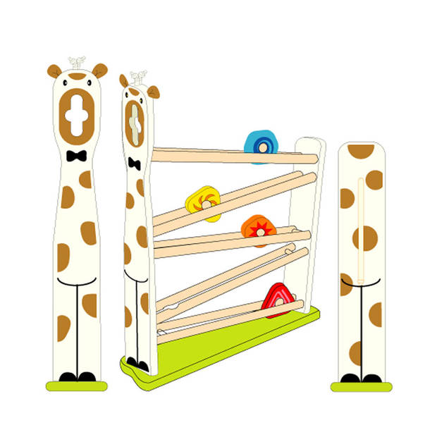 I'm Toy rollerbaan giraffe