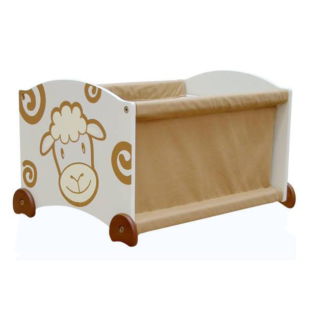 I'm Toy houten opbergkist schaap 37 x 48 x 29,5 cm