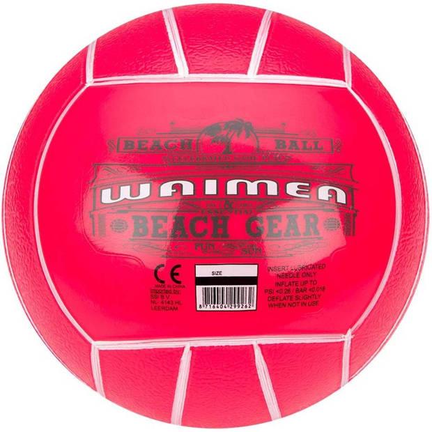 Waimea strandbal - 21 cm - roze