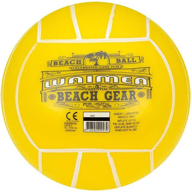 Waimea strandbal - 21 cm - geel