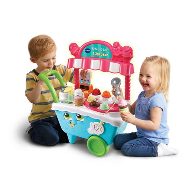 VTech Schep & Leer speelgoed ijscokar