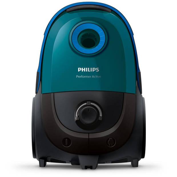 Philips stofzuiger Performer Active FC8563/09 - turquoise/zwart