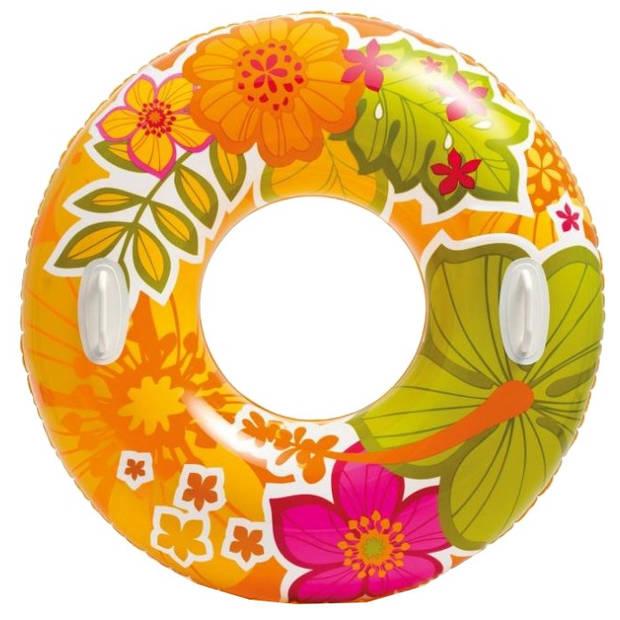 Intex zwemband oranje 97 cm