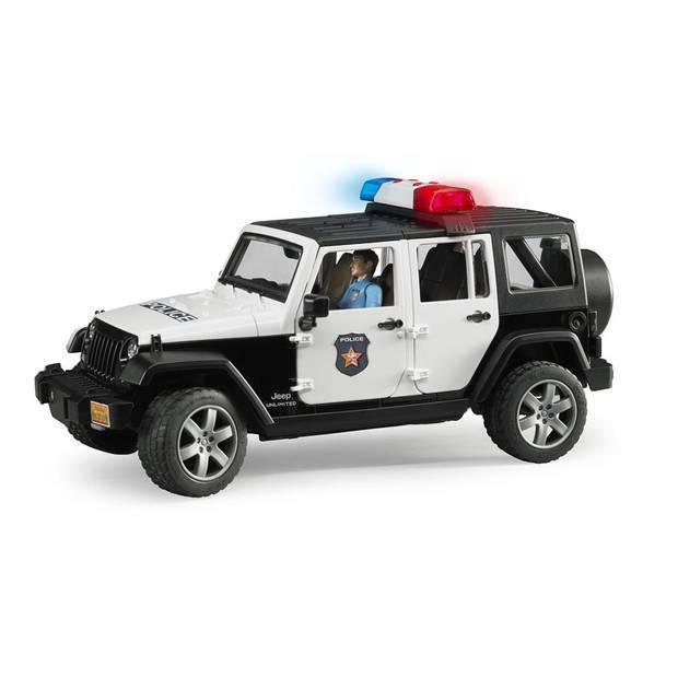 Bruder Jeep Wrangler met politieman