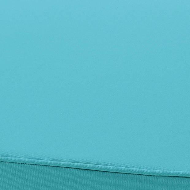 Dutch Decor Stoelkussen Sunny PK1 44x46x5 cm aqua
