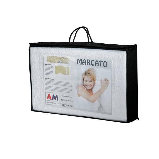 AMproducts Marcato talalay latex hoofdkussen AMproducts 11/13 cm.