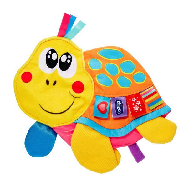 Chicco knuffeldoekje schildpad