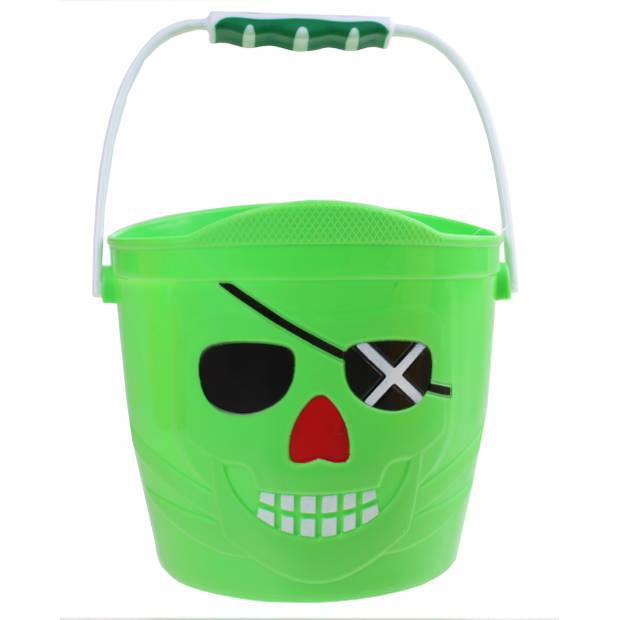 Yello speelemmer Piraat 14 x 14,5 cm groen
